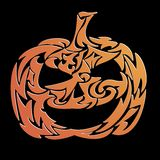 Decorative haloween pumpkin - vector Stock Photos