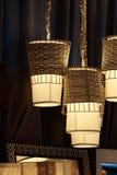 Decorative Hanging lamp Royalty Free Stock Photos