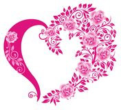 Decorative heart Stock Image