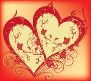 Decorative heart Stock Photos