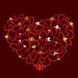 Decorative heart Royalty Free Stock Photo