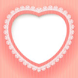 Decorative heart Royalty Free Stock Image
