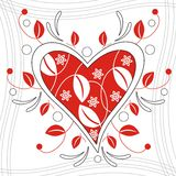 Decorative heart Royalty Free Stock Photo