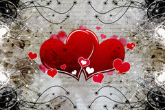 Decorative heart design Stock Photo