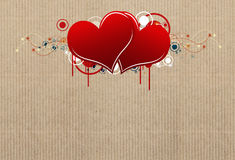 Decorative heart design Royalty Free Stock Image