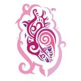 Decorative heart. Ethnic pattern. Stock Photos