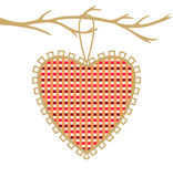 Decorative heart. Stock Images
