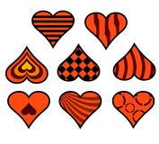 Decorative heart part two Royalty Free Stock Image
