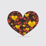 Decorative Heart Shape Royalty Free Stock Photos