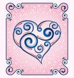 Decorative heart symbol Stock Photo