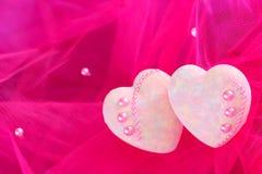 Decorative hearts Royalty Free Stock Photography