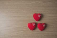 Decorative hearts Stock Photos