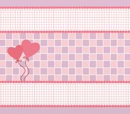 Decorative hearts for valentines day Royalty Free Stock Images