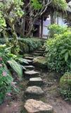 Decorative home garden stone Stock Photo