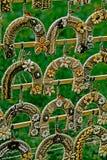 Decorative horseshoes hanging Royalty Free Stock Images