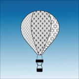 Decorative Hot Air Balloon Stock Photography