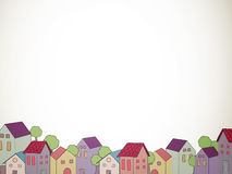 Decorative Houses Royalty Free Stock Images