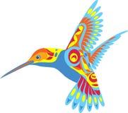 Decorative Hummingbird Stock Image