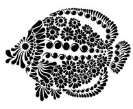 Decorative image of a fairy fish. Vector illustration Royalty Free Stock Image