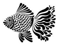 Decorative image of a fantastic fish. Vector illustration Stock Image