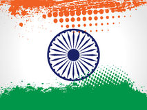 Decorative Indian National Flag. Stock Photo
