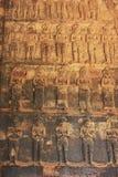 Decorative interior wall carvings Stock Photos