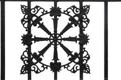 Decorative iron art Royalty Free Stock Photos