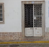 Decorative ironwork doors Royalty Free Stock Photography
