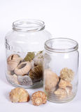 Decorative jars Royalty Free Stock Image