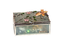 Decorative jewelry box Royalty Free Stock Image