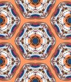Decorative kaleidoscope Royalty Free Stock Photo