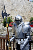 Decorative knight at Rhodes, Greece Stock Photo