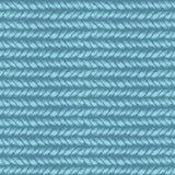 Decorative knit seamless pattern Royalty Free Stock Image