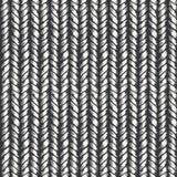 Decorative knit seamless pattern Stock Images
