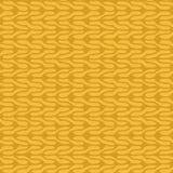 Decorative knit seamless pattern Royalty Free Stock Photography