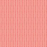 Decorative knitting braids seamless pattern. Royalty Free Stock Photography