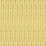 Decorative knitting braids seamless pattern. Royalty Free Stock Image