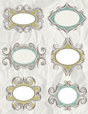 Decorative labels,vector Stock Photography