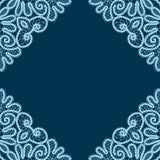 Decorative lace corners Stock Photography