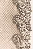 Decorative lace Royalty Free Stock Photo