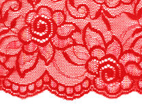 Decorative lace with pattern Royalty Free Stock Photos