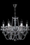 Decorative lamp on the dark background. Royalty Free Stock Photo