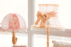 Decorative lamps Royalty Free Stock Images