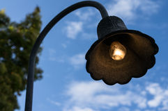 Sidewalk lamp Stock Photography