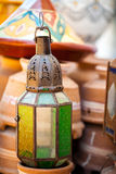 Decorative lantern. Traditional Arabic decorative lantern on a market place Stock Photo