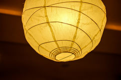 Decorative lantern. Beautiful decorative lantern or paper lamp Royalty Free Stock Image