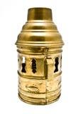Decorative lantern brass cover Stock Photography