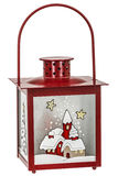 Decorative lantern in the style of the Christmas holidays Royalty Free Stock Images