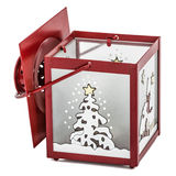 Decorative lantern in the style of the Christmas holidays Royalty Free Stock Photo