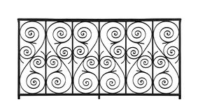 Decorative lattice Royalty Free Stock Image